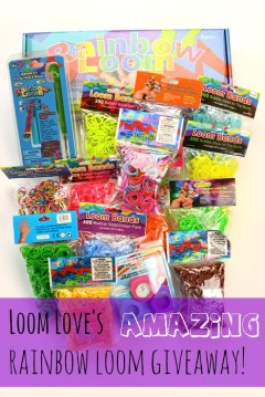 amazing rainbow loom giveaway