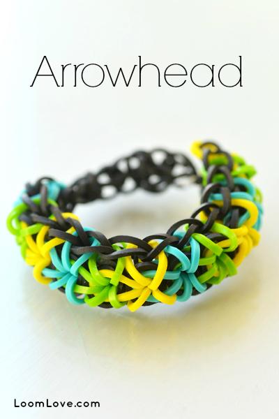 arrowheaed bracelet
