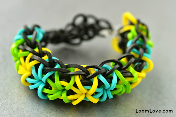 Simple diy rubber band bracelets no loom required.