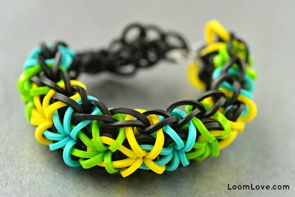 20 Beautiful Rainbow Loom Bracelets