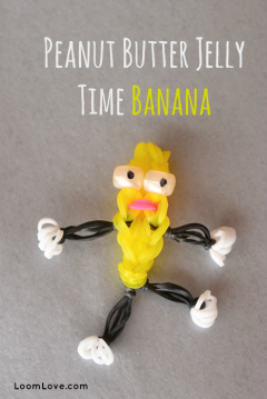 rainbow loom banana