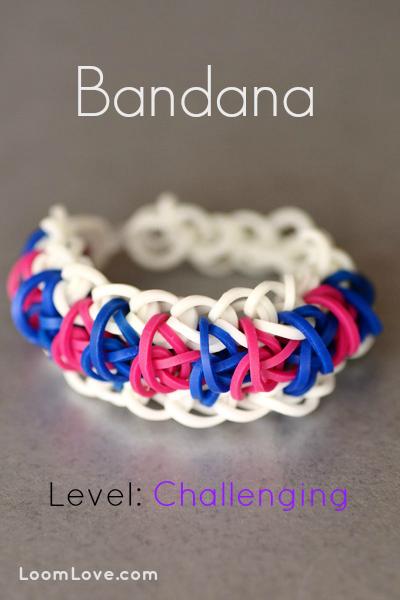bandana rainbow loom