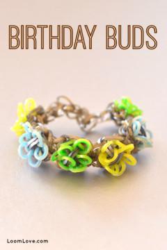 birthday buds bracelet
