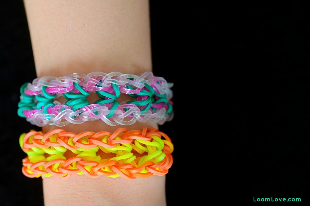 bliss bracelet rainbow loom