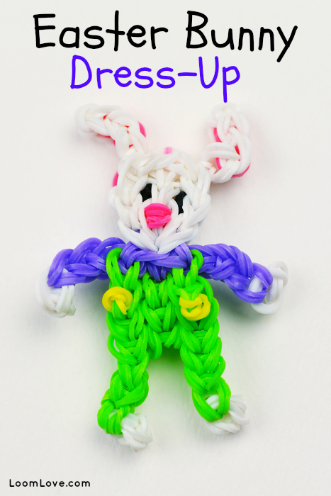 bunny rabbit rainbow loom