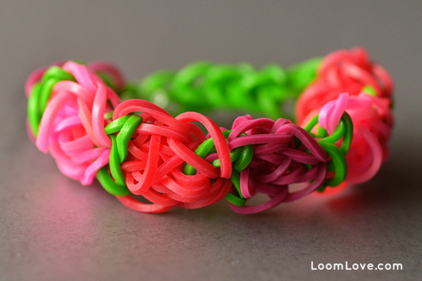 carnation bracelet