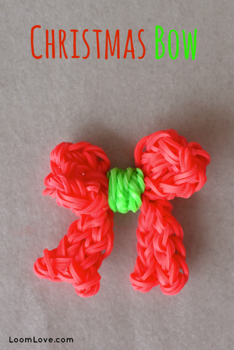 holiday rainbow loom projects