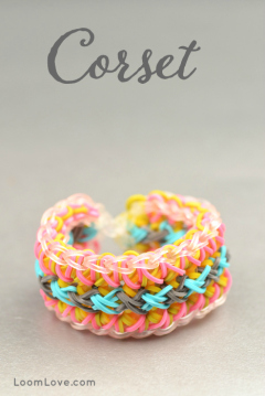 corset rainbow loom