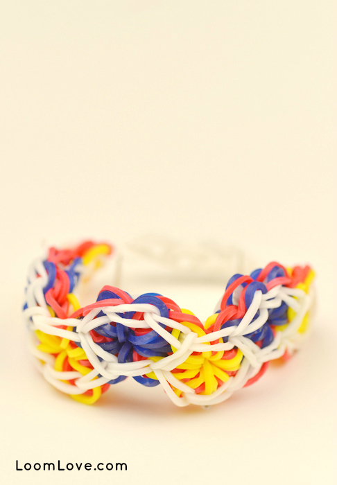 dancing star rainbow loom