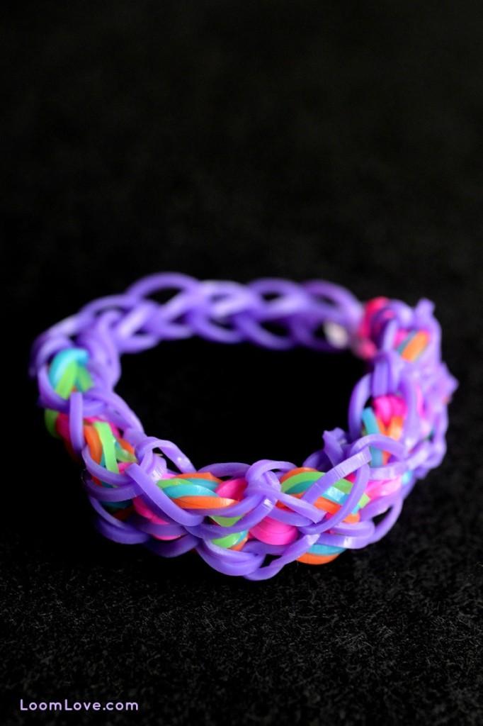 dazzle rainbow loom