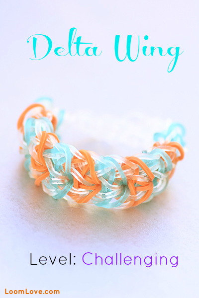 delta wing rainbow loom