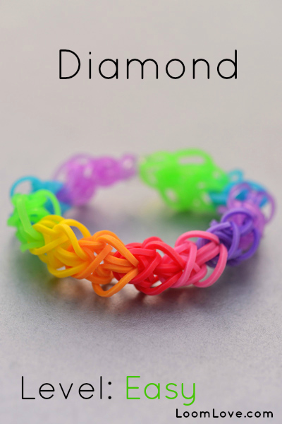 diamond loom bracelet