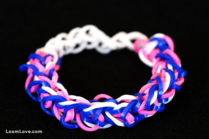 diamond weave rainbow loom