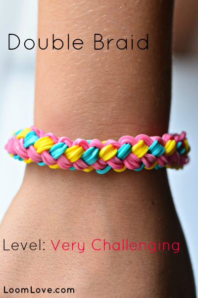 double braid rainbow loom