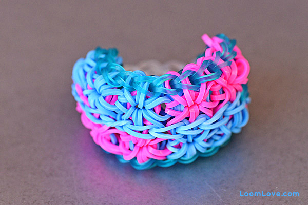 double starburst rainbow loom