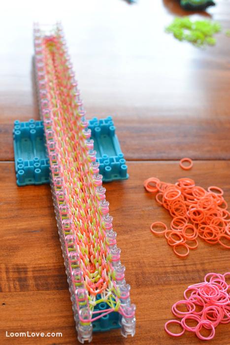 easter basket rainbow loom