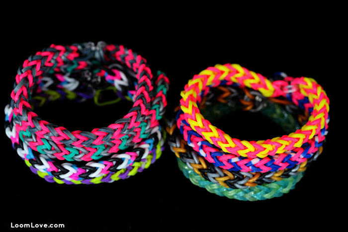 easy chevro rainbow loom