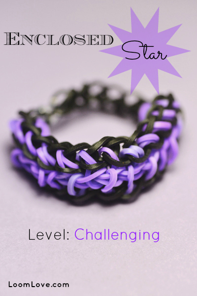 enclosed star bracelet