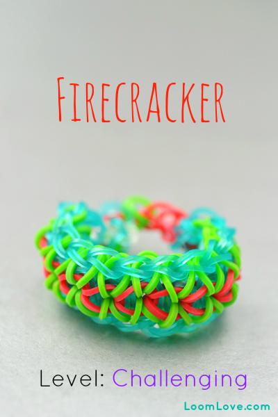 firecracker rainbow loom