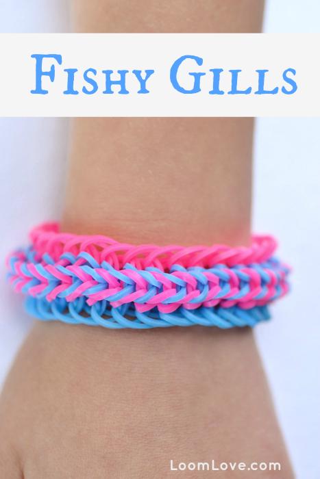 fishy gills bracelet