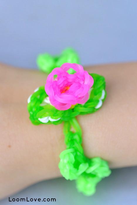flower bracelet justins toys