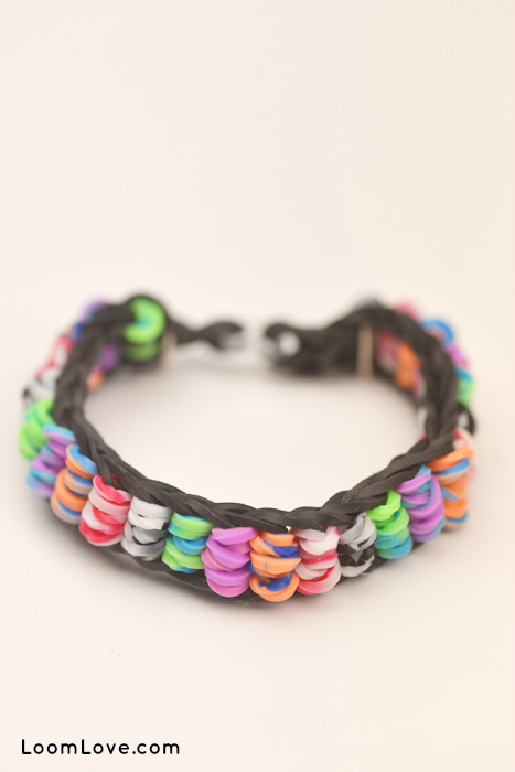 grand illusion tie dye rainbow loom