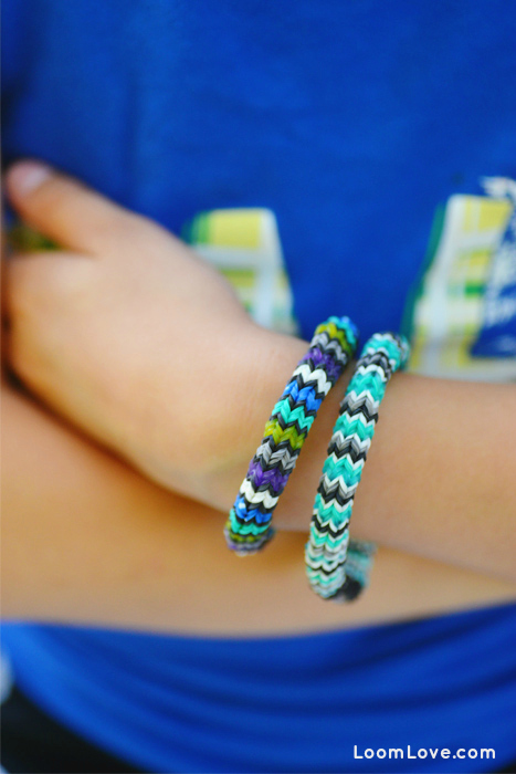 hexafish rainbow loom