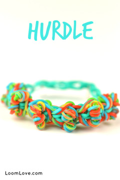 rainbow loom hurdle