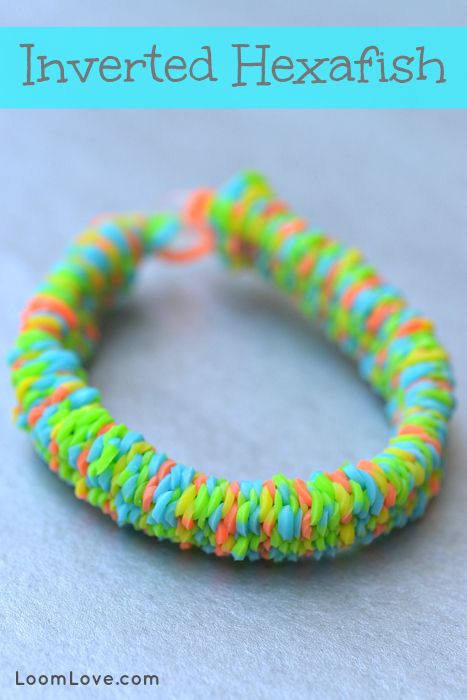 How To Make An Inverted Hexafish Rainbow Loom Bracelet