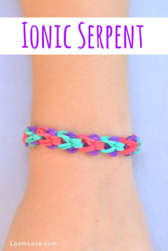 ionic serpent rainbow loom