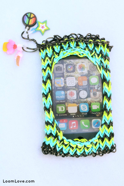 iphone rainbow loom good