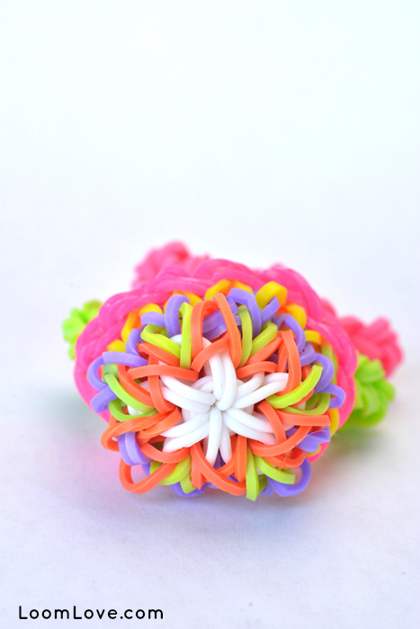 kaleidoscope basket rainbow loom