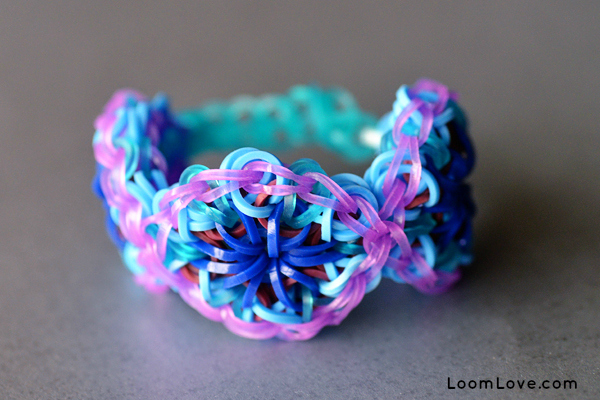 band easy bracelets rubberband rubber rainbow beaded loom with tutorial beads bracelet
