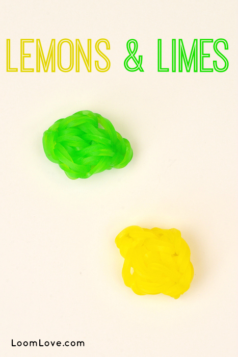 lemon lime charm