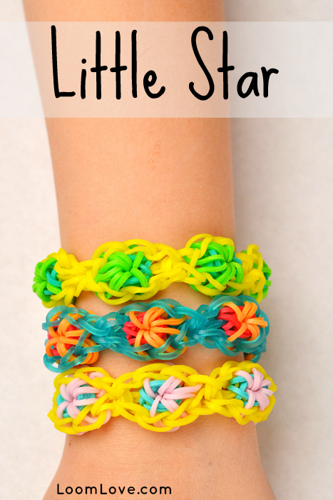 little star rainbow loom instructions