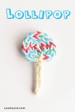 lollipop rainbow loom
