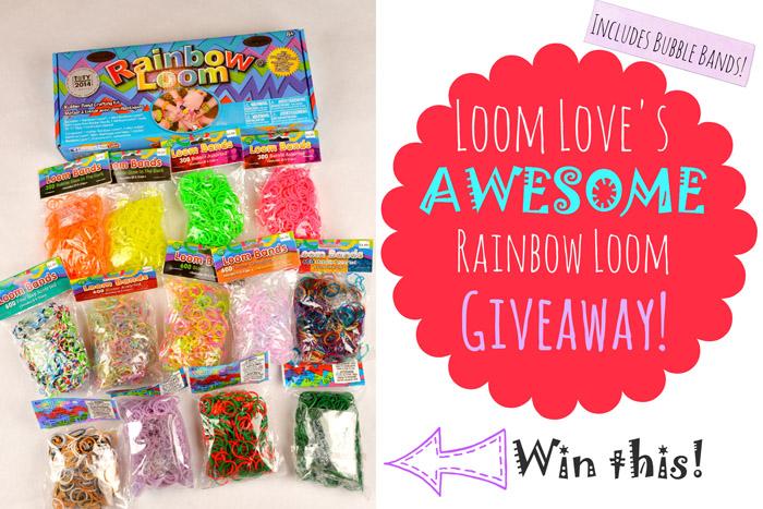 rainbow loom giveaway