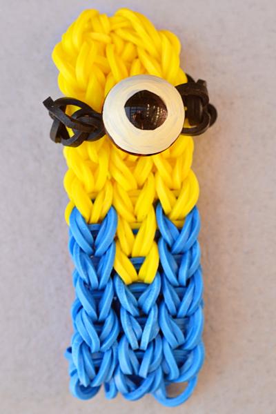 minion-rainbow-loom-bracelet-2