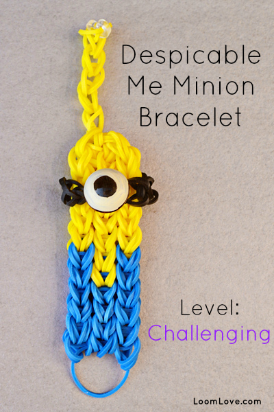 minion-rainbow-loom