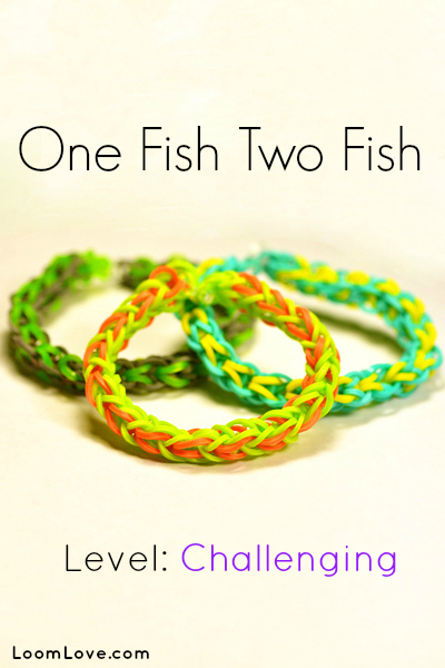 one fish two fish rainbow loom