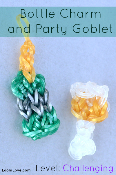 party goblet rainbow loom