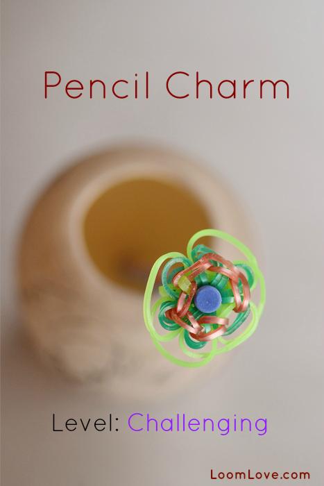pencil charm