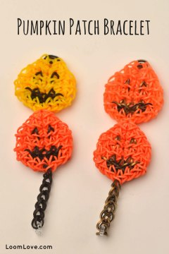 pumpkin patch bracelet