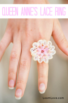 queen annes lace ring