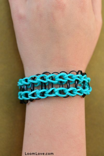Easy Bracelets for Rainbow Loom BeginnersEasy Rainbow Loom Designs