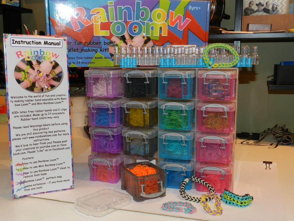 rainbow loom storage
