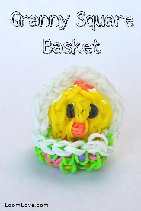 rainbow loom basket