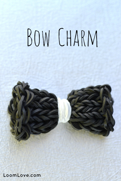 rainbow loom bow
