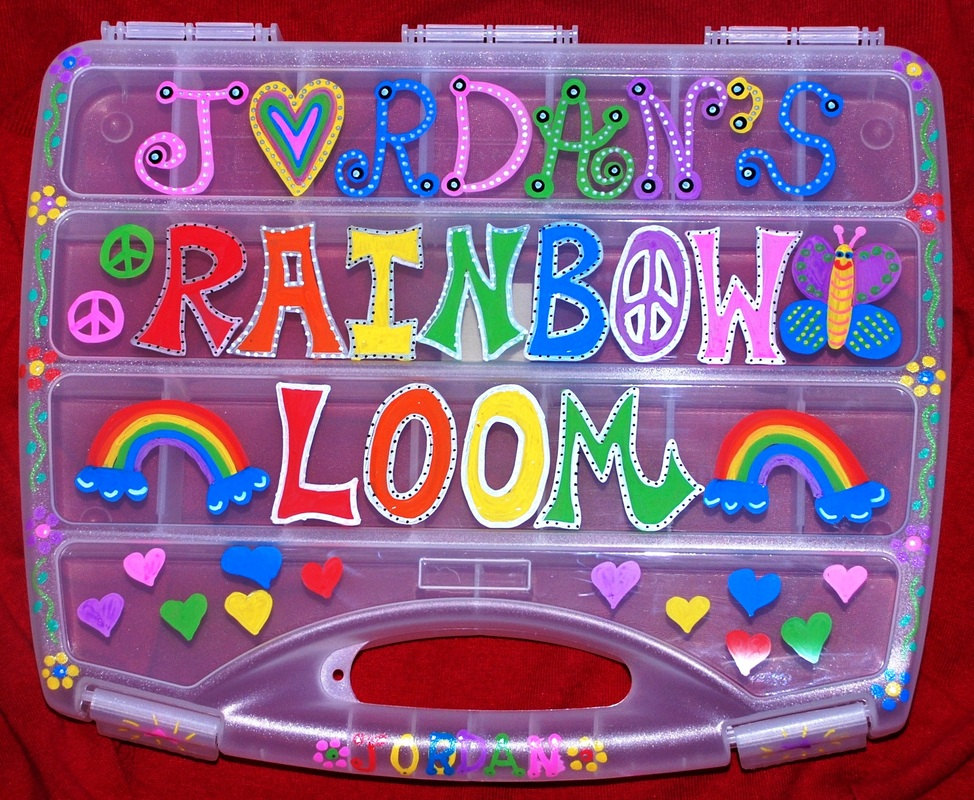 rainbow loom box