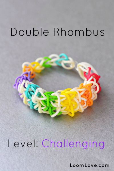 How to Make a Double Rhombus Bracelet
